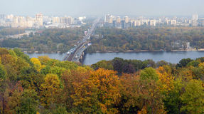Panorama of Kiev Stock Photo