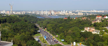 Panorama of Kiev Royalty Free Stock Image