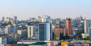 Panorama of Kiev city center Stock Photo