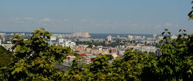 Panorama of Kiev Royalty Free Stock Photo