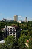 Panorama of Kiev Stock Photography
