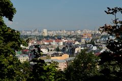 Panorama of Kiev Stock Images