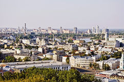 Panorama of Kiev in the summer Royalty Free Stock Images