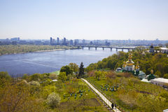 Panorama of Kiev.  Ukraine Royalty Free Stock Photos