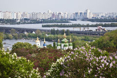 The panorama of Kiev. Ukraine Stock Image