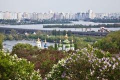 The panorama of Kiev. Ukraine Stock Image