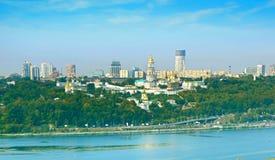 Panorama of Kiev, Ukraine Royalty Free Stock Photos