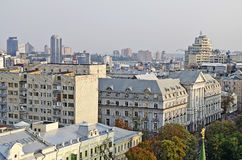 Panorama of the Kiev Stock Photos