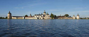 Panorama Kirillo-belozerskiy monastery. Royalty Free Stock Image
