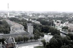 Panorama of Klaipeda, Lithuania Royalty Free Stock Photography