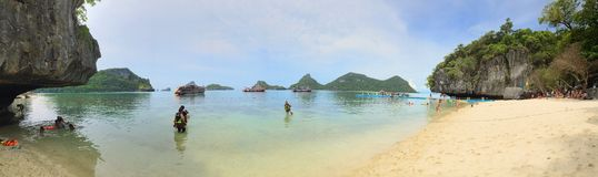 Panorama Ko Mae Ko Royalty Free Stock Photography