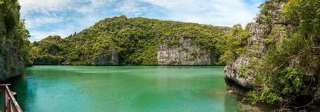 Panorama Koh Samui Ang Thong Islands national park Stock Photography