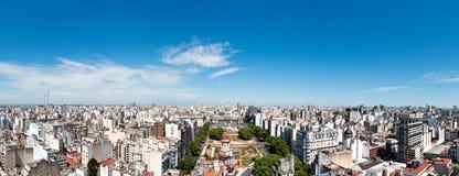 Panorama, kongres naród Argentyna obraz stock