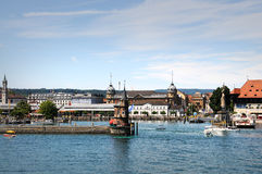 Panorama of Konstanz Royalty Free Stock Images