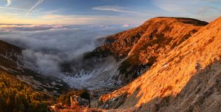 Panorama with Kotel mountain Royalty Free Stock Photos