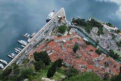 Panorama of Kotor Stock Photos