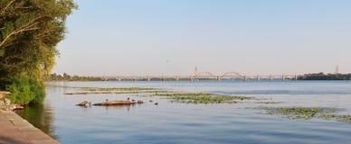 Panorama krajobraz Zdjęcia Stock