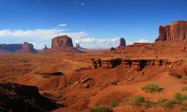 panorama krajobrazowa Obraz Royalty Free