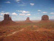 Panorama krajobrazowy pomnikowy dolinny usa fotografia royalty free