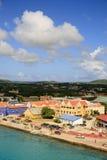 Panorama of Kralendikh, Bonaire Stock Photo