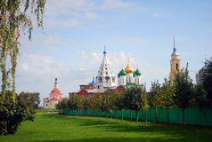 Panorama of Kremlin in Kolomna, Russia. Stock Image