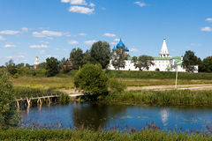Panorama of the Kremlin, Suzdal Royalty Free Stock Images