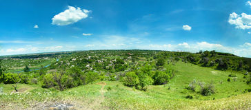 Panorama Krivoy Rog Zdjęcia Royalty Free