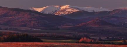 Panorama Krizna góra obrazy stock