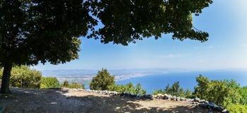 Panorama Kroatien Royaltyfria Bilder
