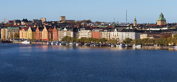 Panorama Kungsholmen, Stockholm. Stock Images