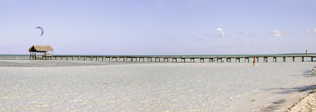 panorama kurort tropikalny zdjęcie royalty free
