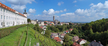 Panorama of Kutna Hora, Czech Republic Stock Photography