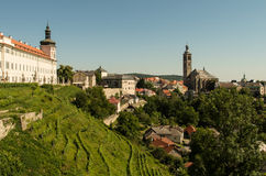 Panorama of Kutna Hora Royalty Free Stock Image
