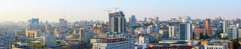 Panorama of Kyiv, Ukraine Royalty Free Stock Photos
