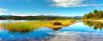 Panorama lake Royalty Free Stock Photos