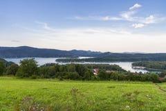 Panorama of Lake Stock Photo