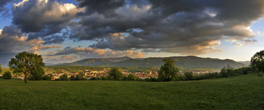 Panorama landscape Royalty Free Stock Photo