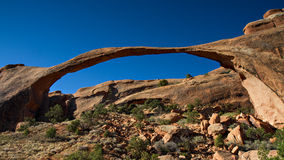 Panorama of Landscape Arch Royalty Free Stock Image