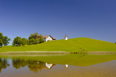 Panorama landscape in Bavaria Royalty Free Stock Photos