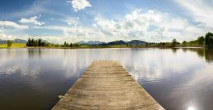 Panorama landscape in Bavaria Stock Image