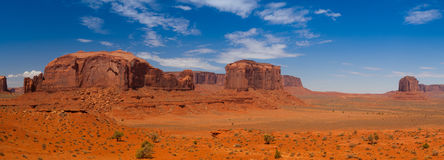 Panorama landscape - Iconic peaks of rock formations in the Nava Royalty Free Stock Photo
