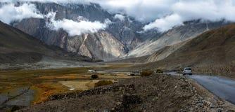 Panorama landscape of Leh, Ladakh, North of India