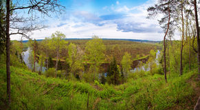 Panorama Landscape - Lithuania Stock Photography