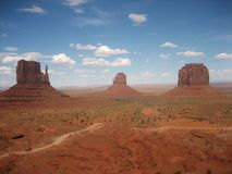 Panorama landscape monument valley USA royalty free stock photography