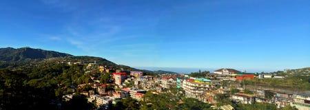 Panorama- landskap fotografering för bildbyråer
