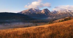 Panorama- landskap. Durmitor nationalpark - Montenegro 4 Arkivfoton