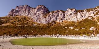 Panorama- landskap. Durmitor nationalpark - Montenegro  Royaltyfria Foton