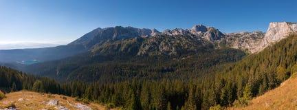 Panorama- landskap. Durmitor nationalpark - Montenegro 2 Royaltyfri Foto