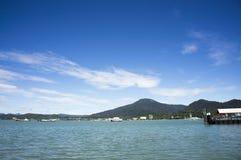 Panorama of Langkawi Islands Royalty Free Stock Photos