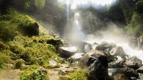 Panorama of the Lares Waterfalls - 5K